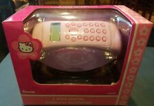 Hello Kitty 2.4 GHz cordless Telephone. NEW SEALED 2006