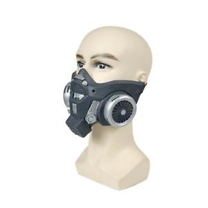 Steampunk Style Half Bottom Face Mask Halloween Costume Cosplay