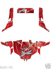 NG Racing WRAP QUAD CanAm Can am Commander 800r 800xt 1000 BARBED WIRE RED