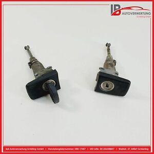 MERCEDES BENZ W201 E190 Schließzylinder SATZ Links Rechts mit Schlüssel ORIGINAL