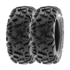 Pair 2 Kenda Bearclaw 25x8-11 ATV Tire Set 25x8x11 K299 25-8-11