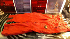 Descente Mens Snowpants Size 40 Decent Condition With Flaw Winter Snow