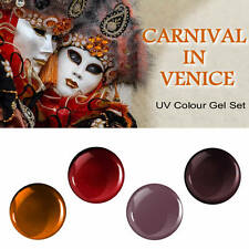 UV Colour Gel Nail Art Spar Set CARNIVAL IN VENICE UV Farbgel Set 20 ml