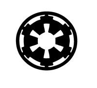 Decal Vinyl Truck Car Sticker - Star Wars Empire Logo