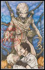 Pumpkinhead 1988 Horror Movie Art 11x17 Print Signed By Artist Chris Oz Fulton!!
