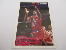 Carte NBA FLEER 1993-94 #220 Larry Stewart Washington Bullets