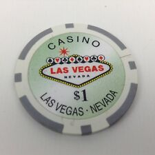 Lot of 238 Las Vegas Clay Casino Chips $1 $5 $50 $25 $100                    905