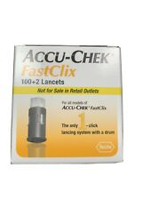 Accu-Check Fast Clix Lancets - 100+2 Lancets Expiration 12/31/23 Brand New Save$