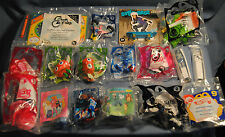 New Lot 17 McDonald Moshi Smurfs Justice MarioKart Princess Gwenevere Premiums