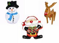 Inflatable Large Santa Reindeer Snowman Christmas Decorations Snowtime Figure