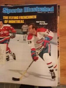 Guy Lafleur & Montreal  - Sports Illustrated - 2/7/1977  Hockey
