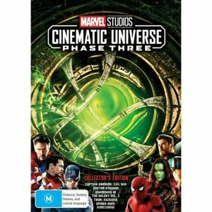 Marvel Studios Cinematic Universe Phase Three 3 Part One 1 BRAND NEW DVD