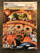 Zoo Tycoon 2: Ultimate Collection (PC, 2008) - With ALL Discs and Manual!