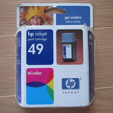 HP 49 Tri-Color Ink Cartridge - 51649A - Genuine, Sealed, Expired 2005