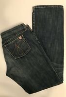 JUICY COUTURE Jeans Blue Denim Women's Size 30 Made in USA