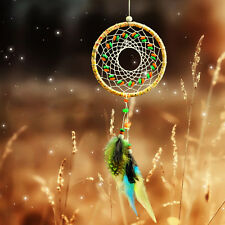 Handmade Dream Catcher Net With feathers Home Car Hanging Decoration Decor Craft