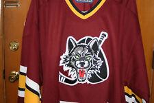 Chicago Seawolves Minor League Hockey Jersey Nwt Rare Defunct Ihl