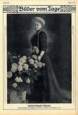 Die letzte deutsche Kaiserin Auguste Viktoria v. Hofphot.T.H.Voigt Homburg 1910
