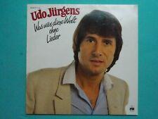 Udo Jürgens - Was Wär' Diese Welt Ohne Lieder (LP, Comp, Club)