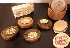 UNUSED Vintage GILCHRIST & SOAMES London SET 7 Perfumed GUEST SOAP BARS Rare!