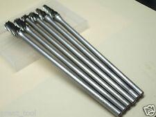 6 x 10MM 150mm Long THK Tungsten Carbide ALUMINUM CUT Rotary Burr Burs 6mm shaft