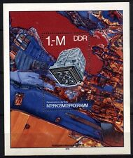7700-b GERMANY EAST DDR 1978 Space Research Block **MNH
