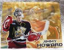 Detroit Red Wings Jimmy Howard Signed Grand Rapids Griffins 8x10 Photo Auto