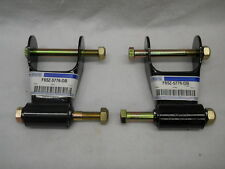 Ford F150 F250 BLACKWOOD RANGER Leaf Spring Shackle Brackets SET PAIR F65Z5776DB