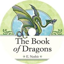 The Book of Dragons, Edith Nesbit Childrens Fairy Tales Audiobook on 1 MP3 CD