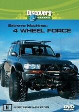 Extreme Machines - 4-Wheel Force (DVD, 2005) Discovery Channel
