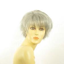 Perruque femme grise cheveux lisses ref VALENTINE 51