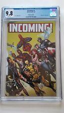 Incoming! #1 CGC 9.8 J. Scott Campbell 1:100 Wraparound Hidden Gem