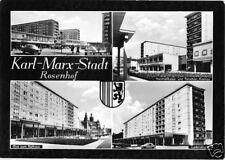 AK, Karl-Marx-Stadt, vier Abb., Rosenhof, 1967