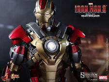 "Hot Toys Iron Man Mark 17 Heartbreaker Avengers 1/6 Scale Figure 12"" Stark New"