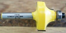 """Router Bit 7.9mm Beading 1/4"""" Shank Econocut by Carbitool Carb-I-Tool EY610B"""