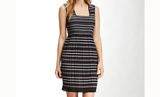 Max Studio - Purple / Black Stripe Dress - Amazing Material fits 12-16 - BNWT
