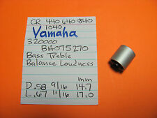 YAMAHA BA075270 BASS TREB BAL LOUD CR-440 CR-640 CR-840 CR-1040 STEREO RECEIVER