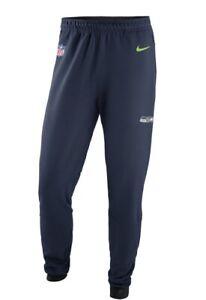 Seattle Seahawks Nike Sideline Player Therma Pants - Navy