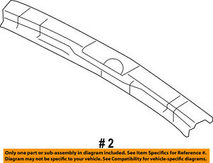 FORD OEM Interior-Rear-Trim Plate 9T4Z7842624AC