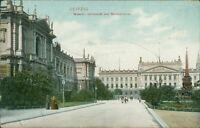 Ansichtskarte Leipzig Museum Universität Mendebrunnen  (Nr.9615)