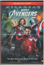 AVENGERS (Blu-ray/DVD, 2012, 2-Disc Set, In DVD Packaging)