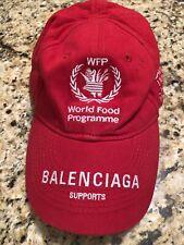 aa683313 Balenciaga Mens Campaign Hat, L