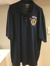 Chicago Fire Dept. Polo Shirt ---Wicking Material