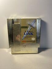 Zelda II: The Adventure of Link Gold (Nintendo Entertainment System, 1988) Cart