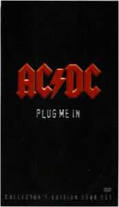 AC/DC - PLUG ME IN (COLLECTOR´S EDITION)  3 DVD