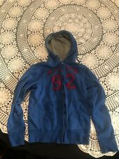 Vtg Ambercrombie And Fitch Zipper Hoodie