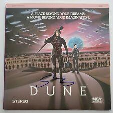 Sting Signed Dune Laserdisc Movie Musician Actor LEGEND RAD