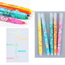 Pokemon Highlighter Markers Stationery Pointer Pen 5 Colors Set Solid Glitter