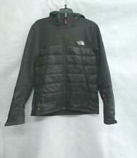 Northface Men's Hooded Jacket Black Size M Puffer Waterproof Used Good Condition