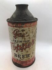 Gus' Premium Topper Cone Top Beer Can - 12 Fl., Oz., - Kalispell, Mt